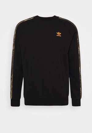 CAMO CREWNECK - Sweatshirt - black