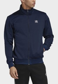 adidas Originals - TREFOIL ESSENTIALS TRACK TOP - veste en sweat zippée - blue