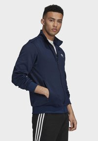 adidas Originals - TREFOIL ESSENTIALS TRACK TOP - veste en sweat zippée - blue - 2