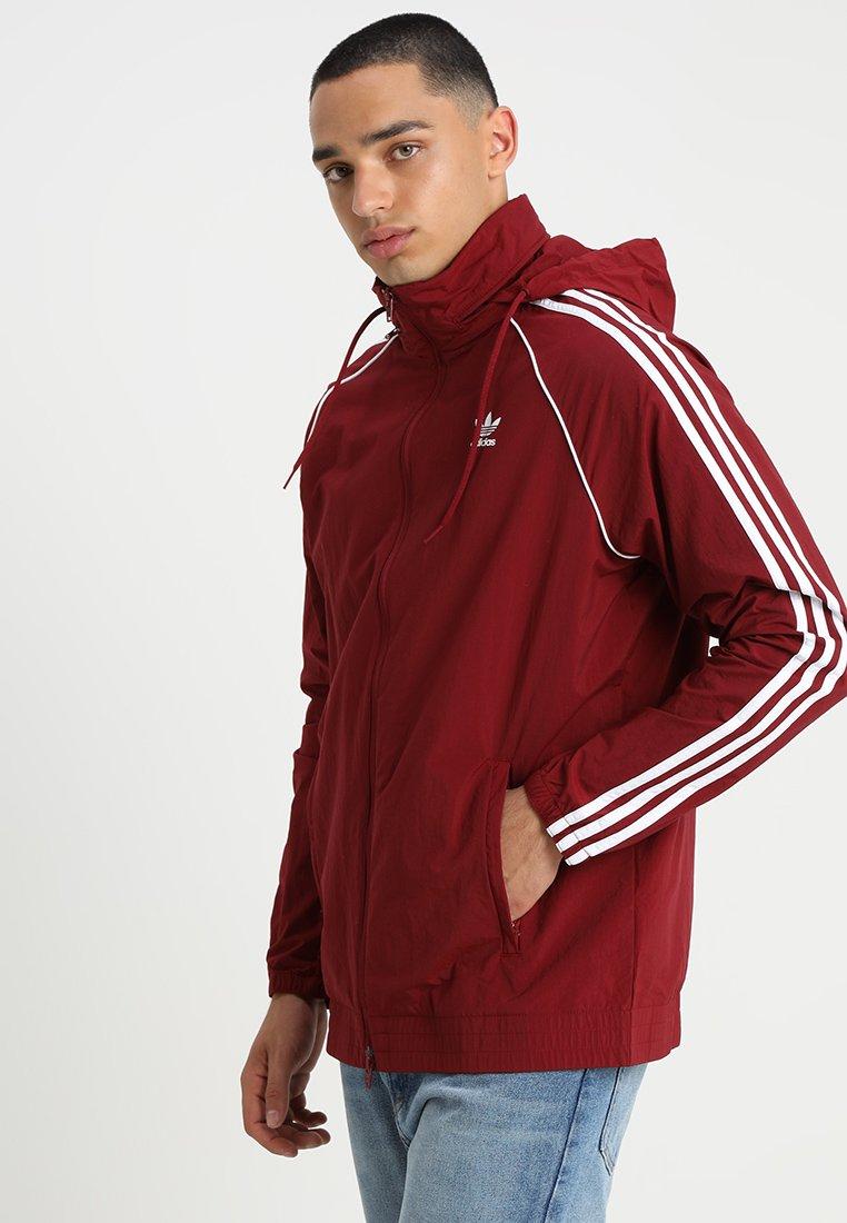 adidas Originals - Veste légère - collegiate burgundy