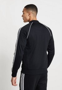 adidas Originals - SUPERSTAR ADICOLOR SPORT INSPIRED TRACK TOP - Trainingsvest - black - 2