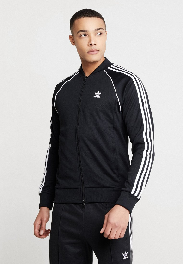 adidas Originals - SUPERSTAR ADICOLOR SPORT INSPIRED TRACK TOP - Trainingsvest - black