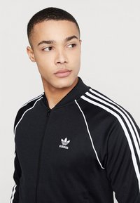 adidas Originals - SUPERSTAR ADICOLOR SPORT INSPIRED TRACK TOP - Veste de survêtement - black - 4
