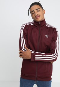 adidas Originals - BECKENBAUER - Training jacket - maroon - 3