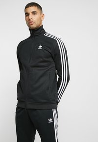 adidas Originals - BECKENBAUER ADICOLOR SPORT TRACK TOP - Trainingsvest - black - 0
