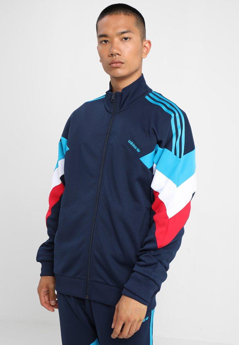 adidas Originals - PALMESTON - Training jacket - collegiate navy/bold aqua