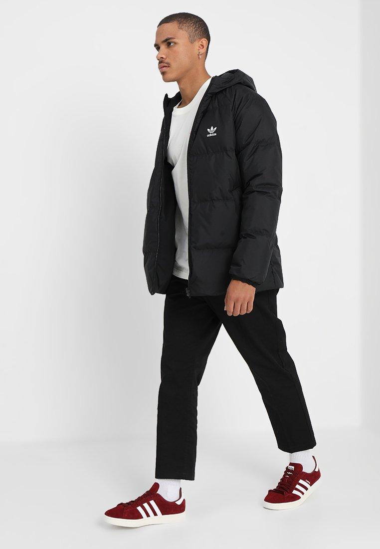 adidas Originals - HOOD - Donsjas - black