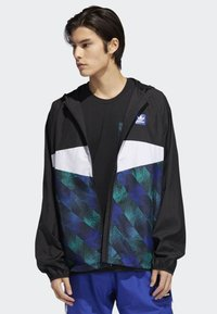 adidas Originals - Towning Packable Wind Jacket - Kevyt takki - black - 0