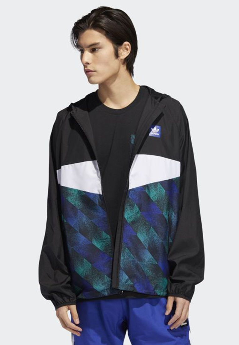 adidas Originals - Towning Packable Wind Jacket - Kevyt takki - black