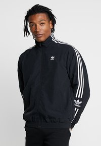 adidas Originals - TRACKTOP - Veste de survêtement - black - 0