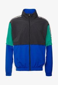 adidas Originals - Training jacket - carbon/collegiate royal/bold green/white - 4