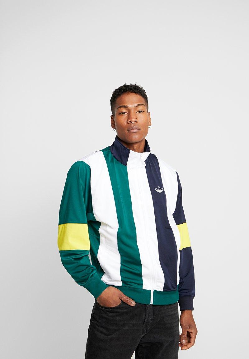 adidas Originals - BAILER - Trainingsvest - legend ink/white/collegiate green