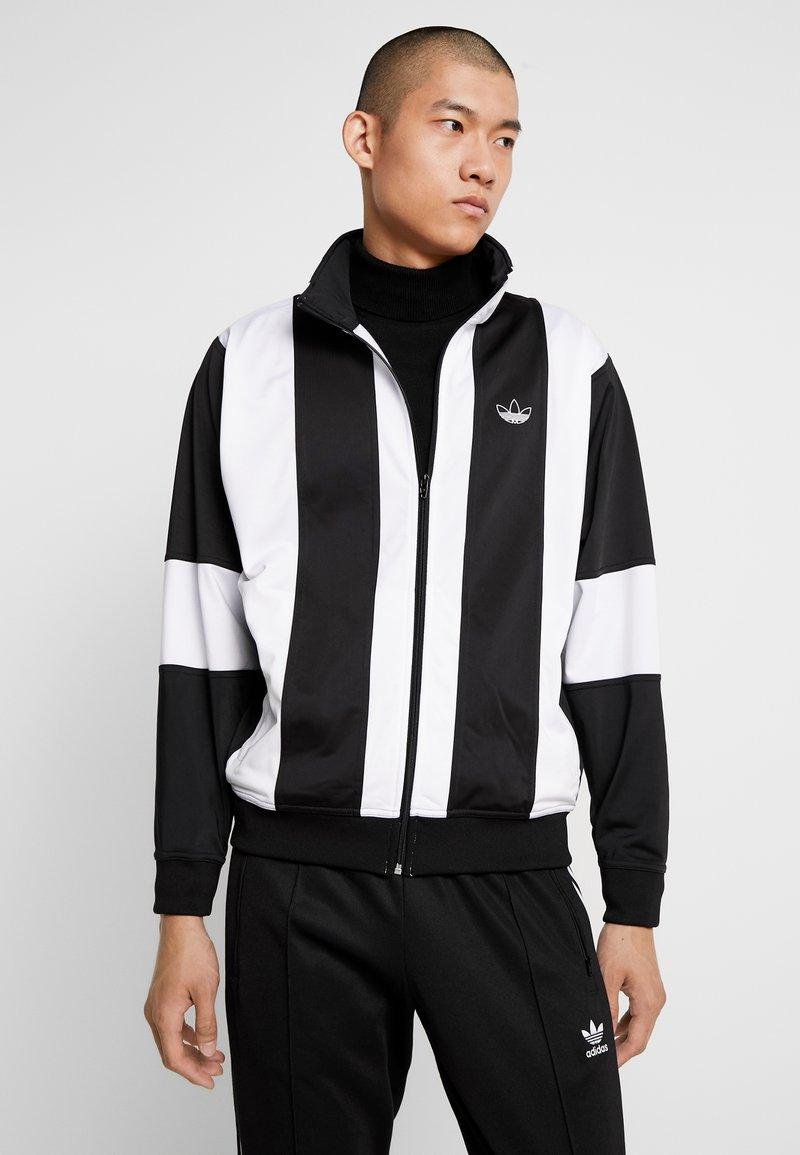 adidas Originals - BAILER - Chaqueta de entrenamiento - black/white