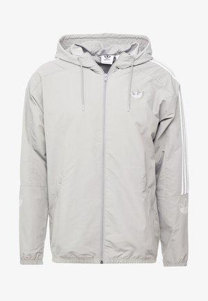OUTLINE WINDBREAKER JACKET - Lehká bunda - solid grey