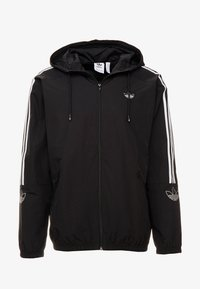 adidas Originals - OUTLINE WINDBREAKER JACKET - Kevyt takki - black - 4