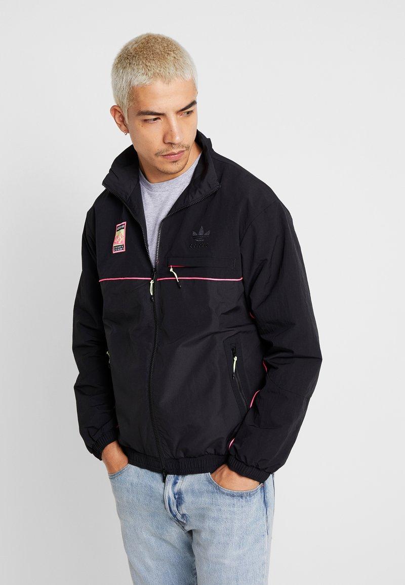 adidas Originals - TRACK  - Summer jacket - black