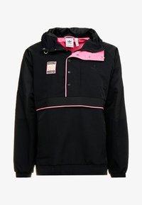 adidas Originals - HOODED JACKET - Windbreakers - black - 4