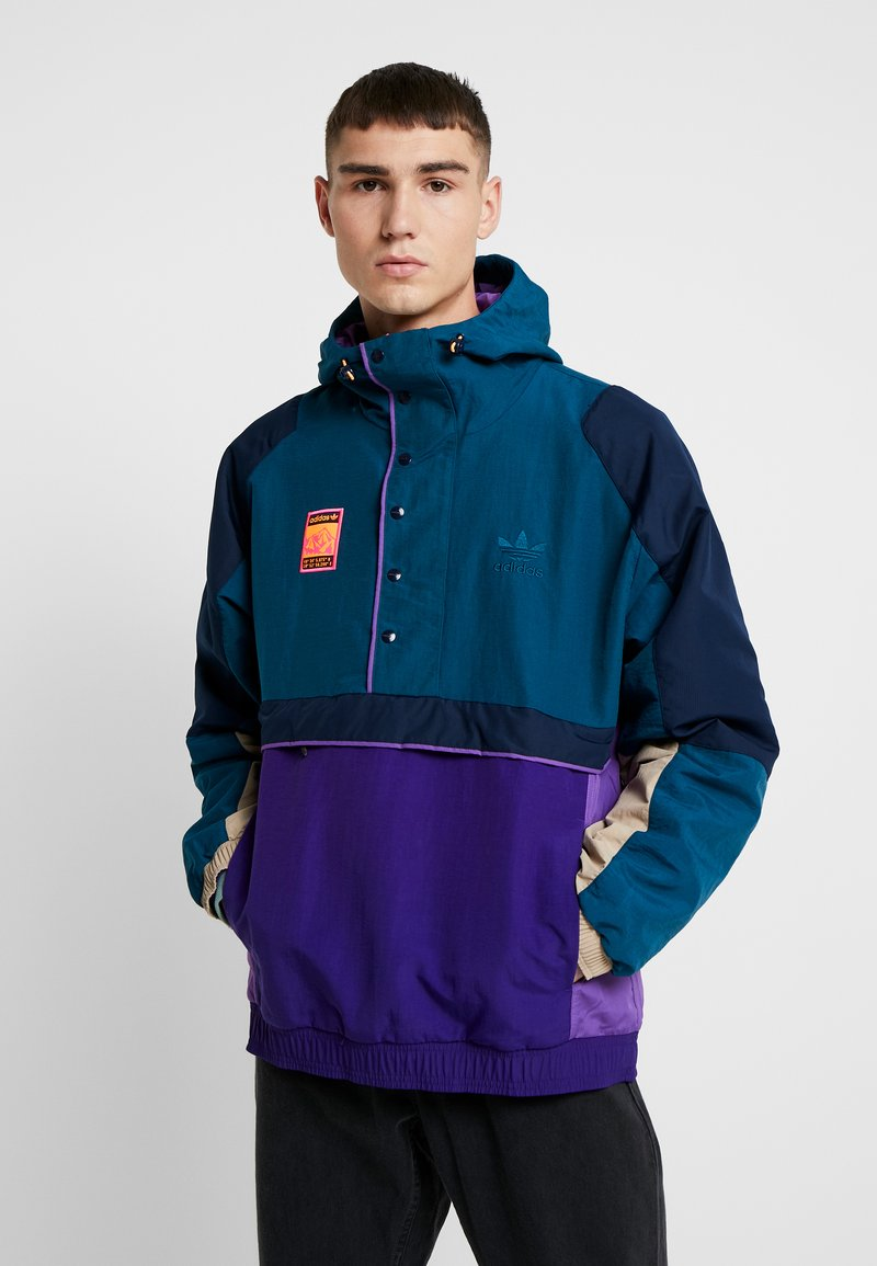 adidas Originals - HOODED JACKET - Windbreaker - multicolor