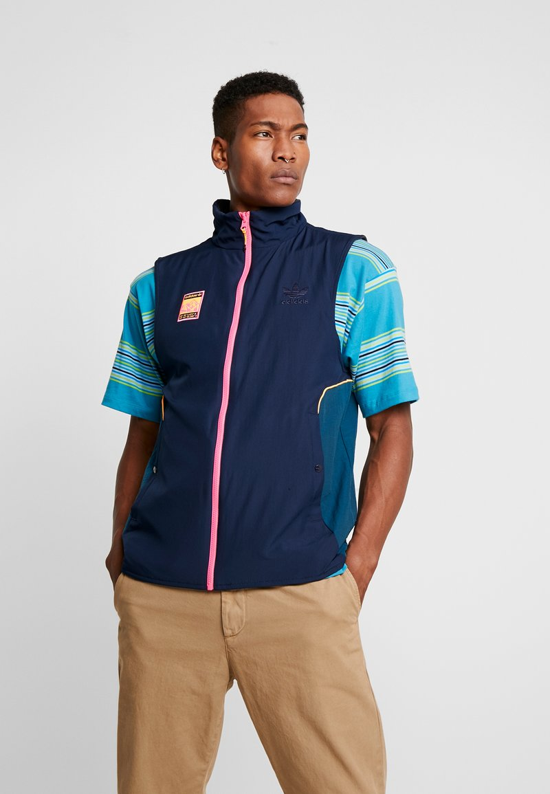 adidas Originals - VEST - Waistcoat - black/multicolor