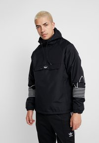 adidas Originals - OUTLINE - Windbreakers - black - 0