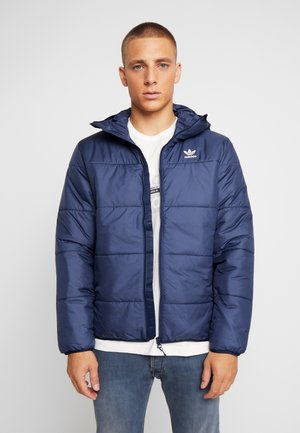 ADICOLOR THIN PADDED BOMBERJACKET - Vinterjacka - collegiate navy