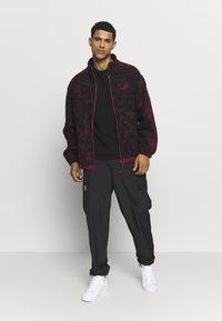 adidas Originals - POLAR  - Giacca in pile - burgundy - 1