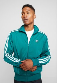 adidas Originals - FIREBIRD TRACK TOP - Training jacket - noble green - 3