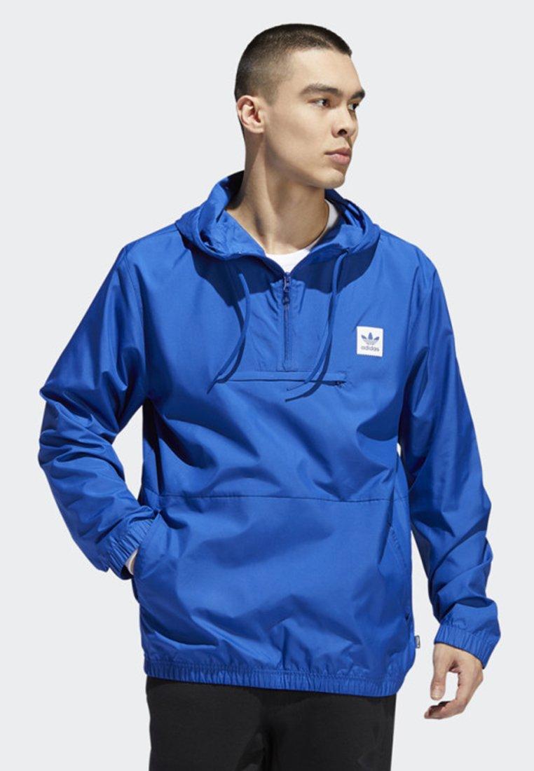 adidas Originals - HIP PACKABLE JACKET - Windbreaker - blue