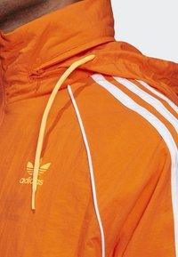 adidas Originals - SST WINDBREAKER - Giacca sportiva - orange - 4