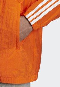 adidas Originals - SST WINDBREAKER - Giacca sportiva - orange - 6