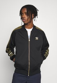 adidas Originals - SUPERSTAR SPORT INSPIRED TRACK TOP - Veste de survêtement - black/gold - 0