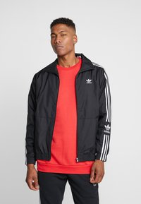 adidas Originals - LOCK UP ADICOLOR SPORT INSPIRED TRACK TOP - Trainingsjacke - black - 0