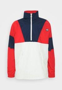 adidas Originals - SAMSTAG SPORT INSPIRED TRACKSUIT JACKET - Wiatrówka - red/white - 4