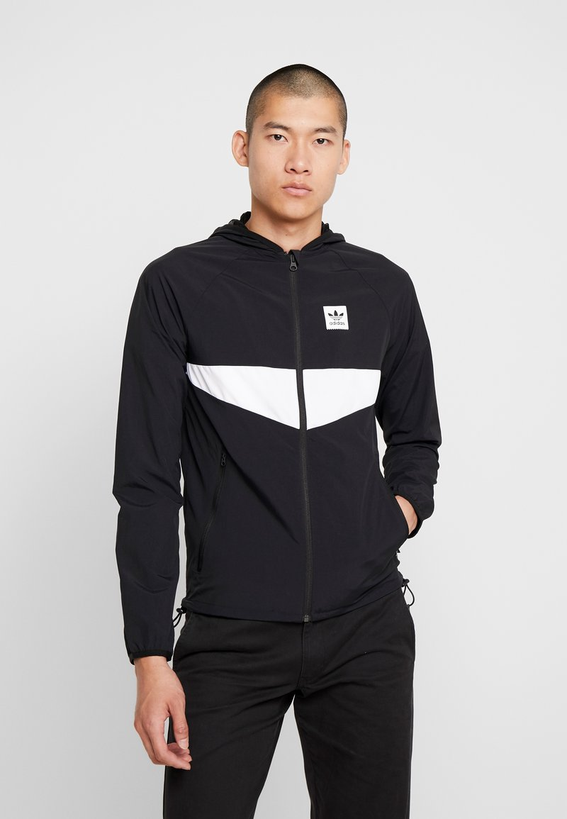 adidas Originals - DEKUM  - Větrovka - black/white