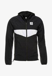adidas Originals - DEKUM  - Větrovka - black/white - 4