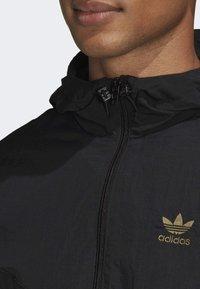 adidas Originals - CAMOUFLAGE WINDBREAKER - Tunn jacka - black - 4