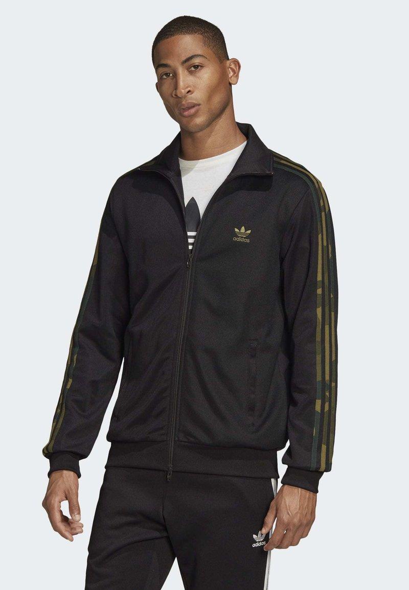 adidas Originals - CAMOUFLAGE TRACK TOP - Kurtka sportowa - black