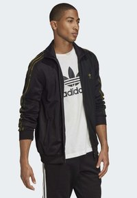adidas Originals - CAMOUFLAGE TRACK TOP - Kurtka sportowa - black - 2