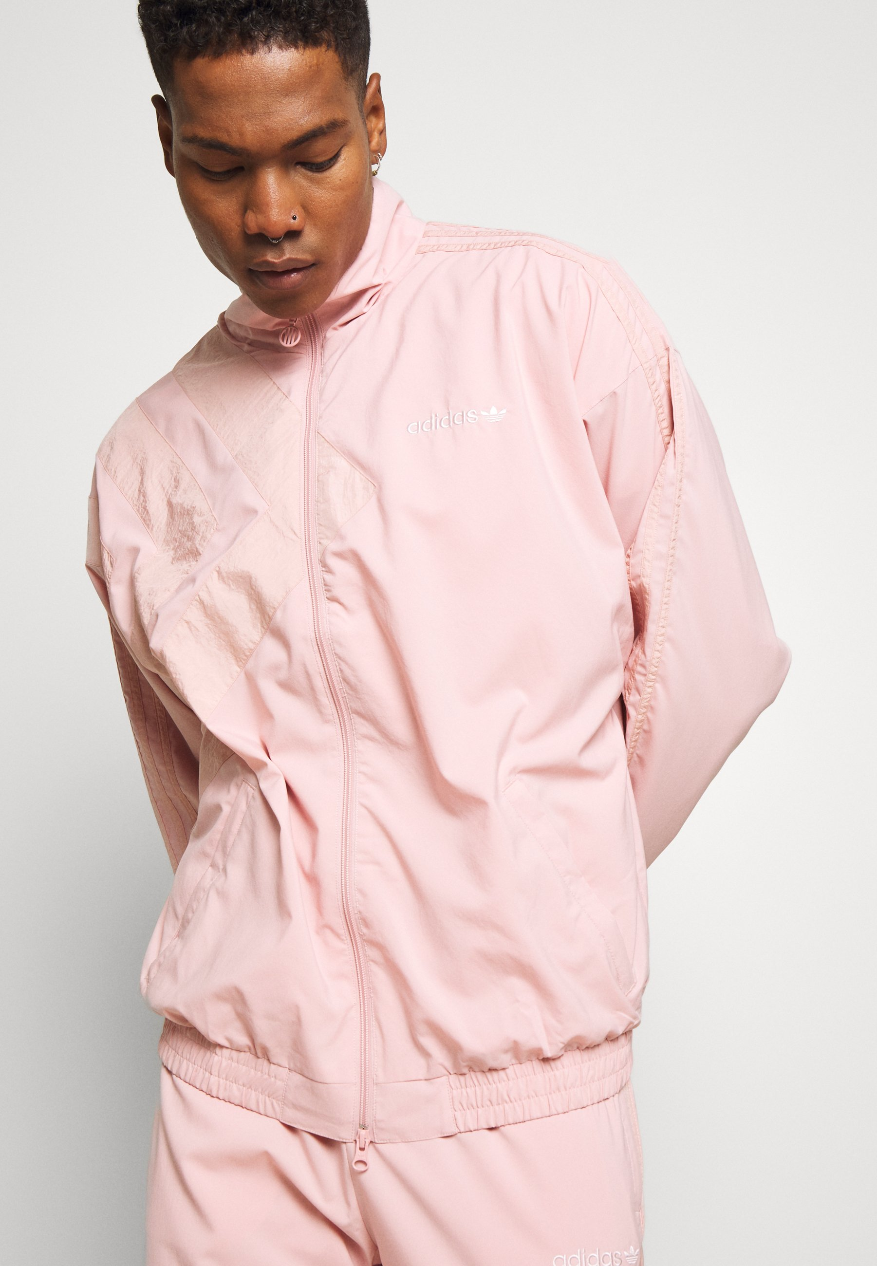 Adidas Originals Pastel Tracktop - Verryttelytakki Pink
