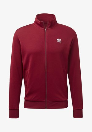 TREFOIL ESSENTIALS TRACK TOP - Trainingsvest - burgundy