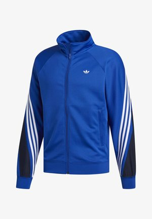 3-STRIPES WRAP TRACK TOP - Verryttelytakki - blue