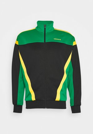 CLASSICS  - Veste de survêtement - black/green