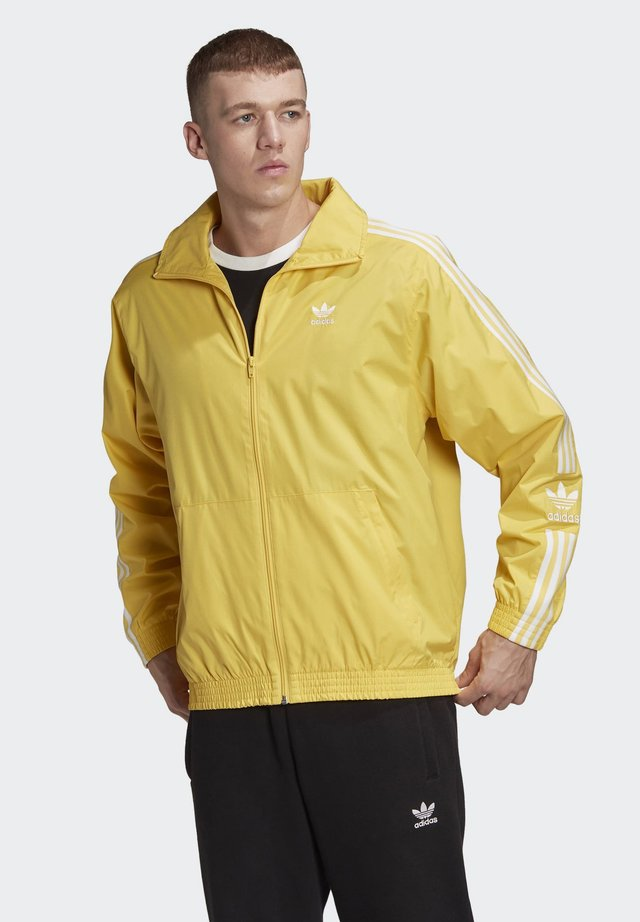 TRACK TOP - Giacca sportiva - yellow