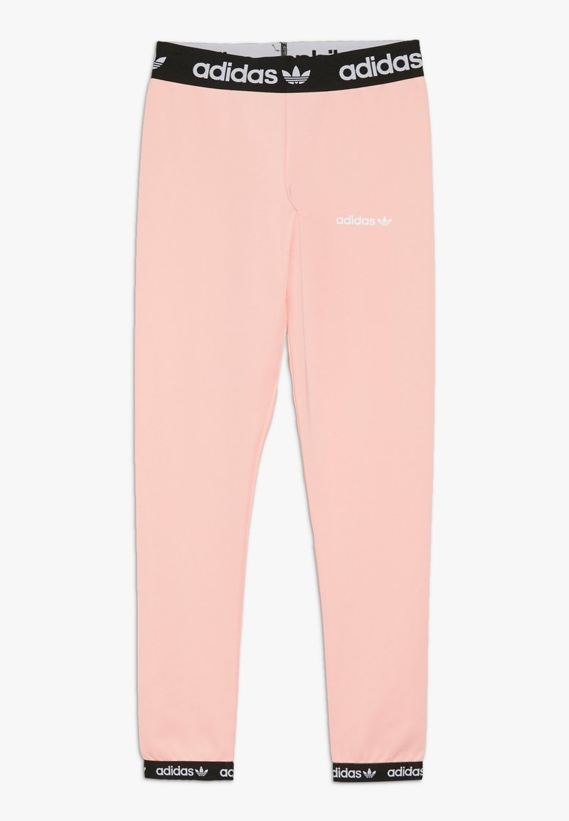 adidas Originals - Legginsy - glow pink/black/white