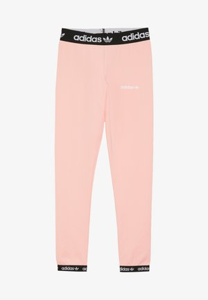 Legging - glow pink/black/white
