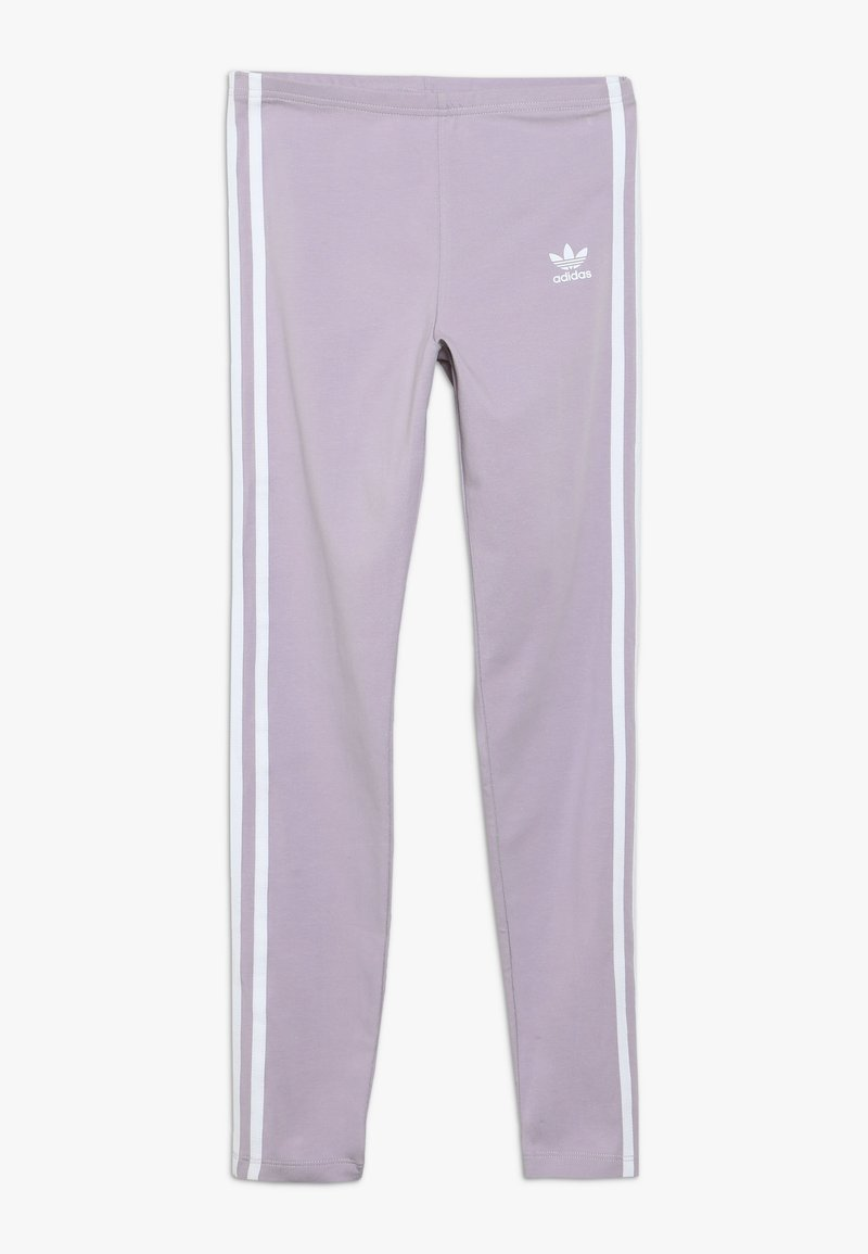 adidas Originals - 3 STRIPES  - Legginsy - mauve
