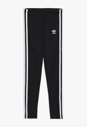 3 STRIPES  - Leggings - black/white