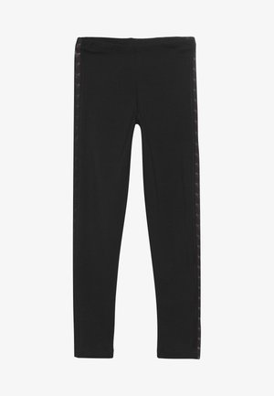 TAPE  - Leggings - Trousers - black