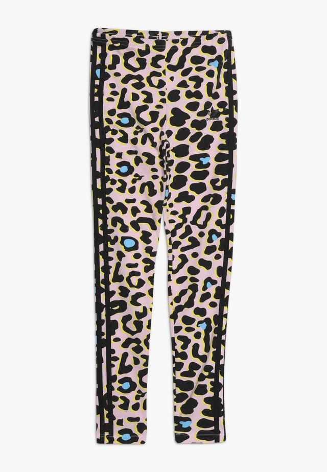 Leggings - multcolor/black