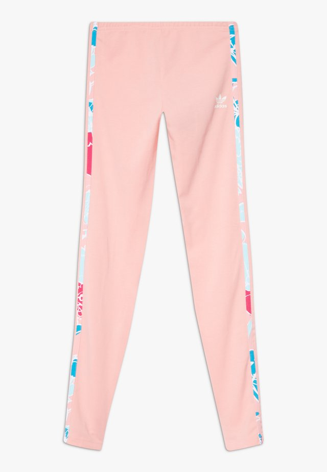 SOLID - Leggings - Trousers - glow pink